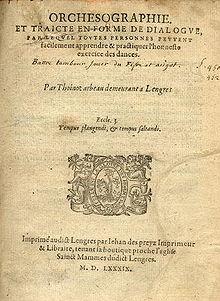 220px arbeau 1589