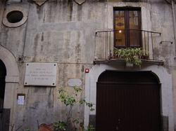 Catania cour della casa natale di vincenzo bellini