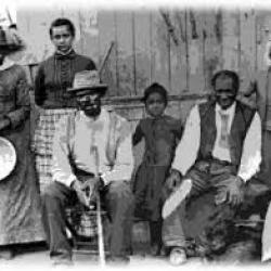 Famille d'esclaves
