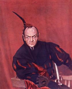 Feodor chaliapin as mephisto 1915