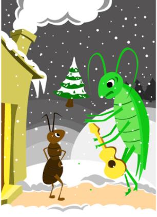 La cigale et la fourmi 2