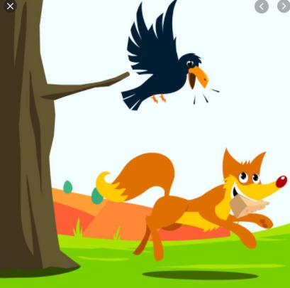 Le corbeau et le renard 2