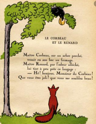 Le corbeau et le renard 3