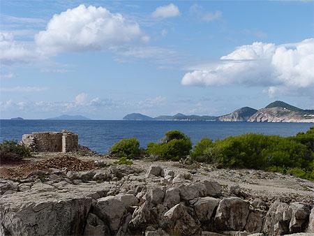 Lokrum, île au large de Dubrovnik