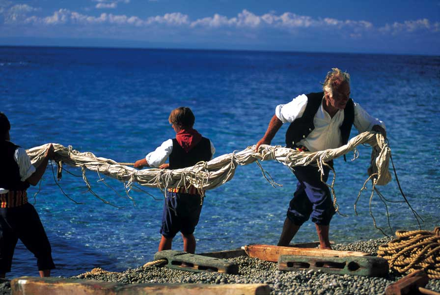 Pêche traditionnelle