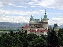 Le château de Bojnice