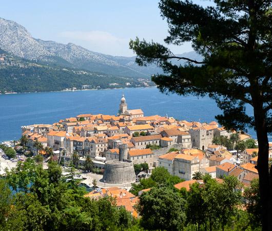 La perle de l'Adriatique